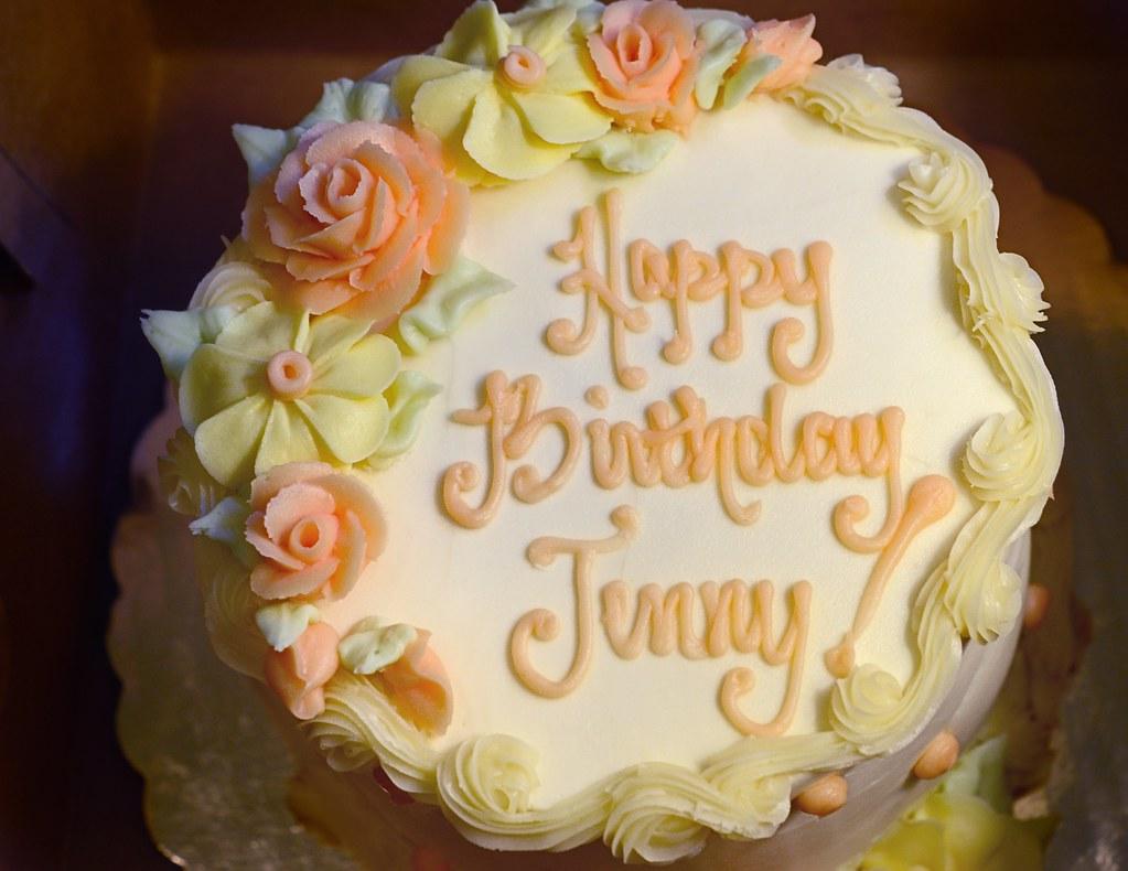 Happy Birthday Jenny Jenny S Birthday Cake At Home And