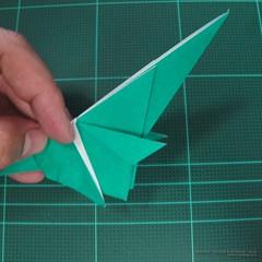 วิธีพับกระดาษเป็นรูปหมู (Origami Pig) 021
