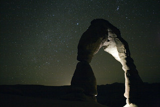 Delicate Arch Under The Stars | by epiøne