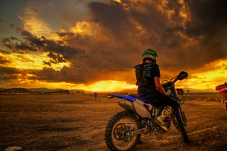 Kill the Dirt Track, Watch Sunset, Repeat   by Zach Dischner