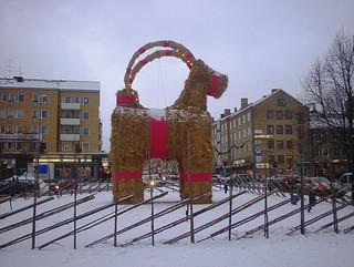 Gavle christmas goat from 2003