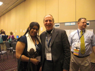 With my Webhead friend, Tom Robb