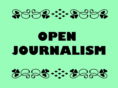 Buzzword Bingo: Open Journalism recognizes what's newsworthy runs along a two-way street. | by planeta
