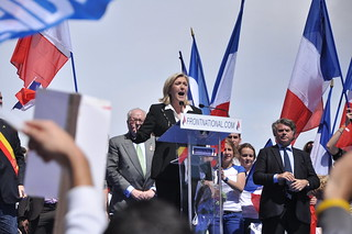 Meeting 1er mai 2012 Front National | by blandinelc