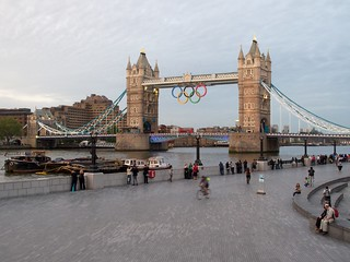 Olympic Rings on Tower Bridge | by avail