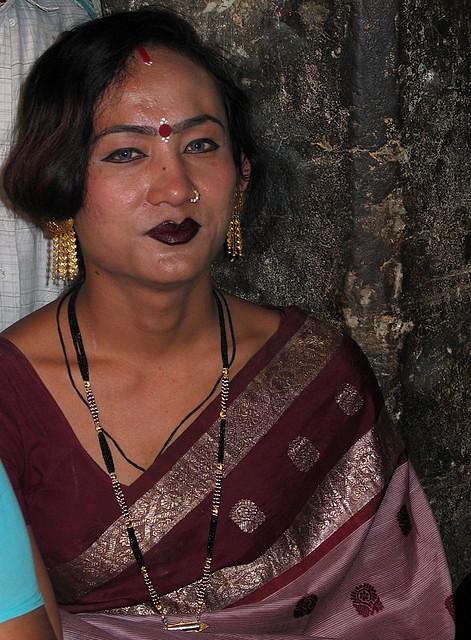 Hijra (tranvestite) in Varanasi | Suhani_Hijra | Flickr