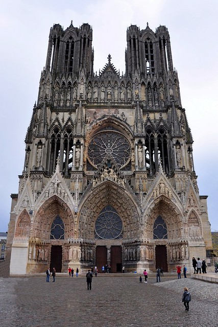 Notre-dame de reims, France (Reims Cathedral) I