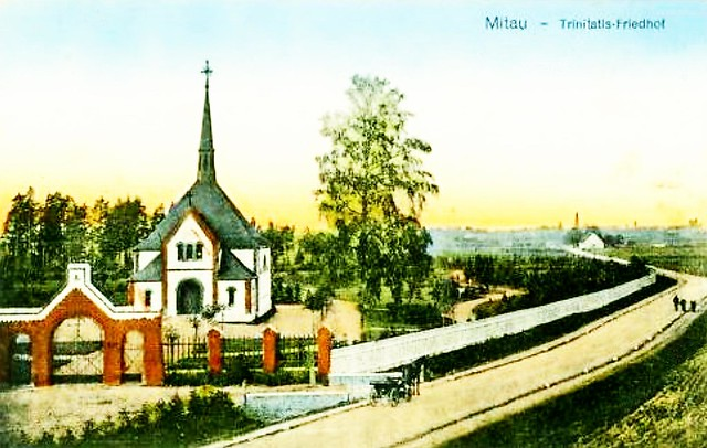 006 Mitau - Friedhof
