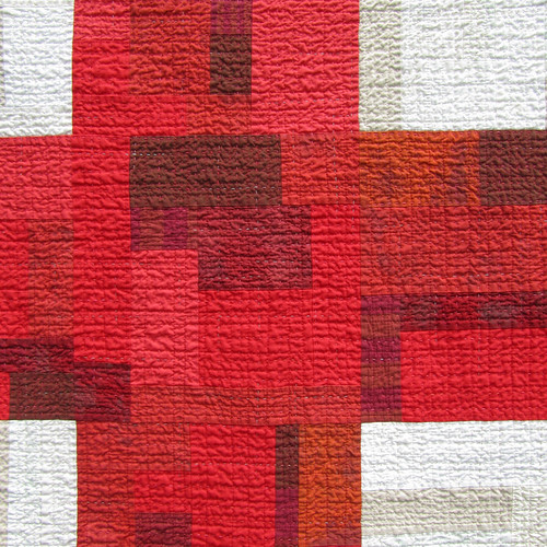 9Patch Quilt in Red and White | by BooDilly's