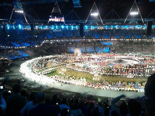 #london2012 #openingceremony United Kingdom team | by gorgeoux