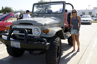 Darby and her 1977 FJ40 | A girl and her Land Cruiser