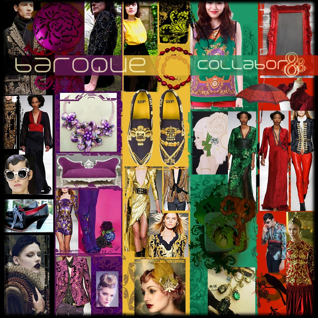C88 August Mood Board Baroque The Collabor88 Theme Color Flickr