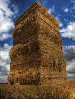 A haystack in a field near Winchester, Hampshire, UK | by neilalderney123