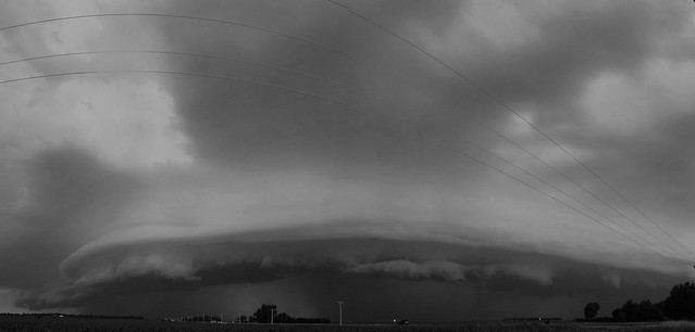 062409 Ominous Outflow!!! Pano B&W