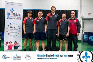 Club Prestige Montréal - Champion PRO A