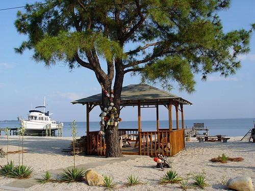 Beach Gazebo, Piney Point