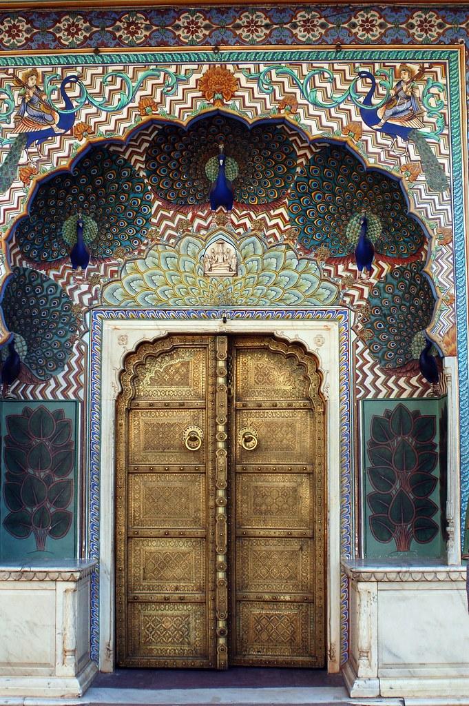 Peacock Gate City Palace Jaipur Payal Jhaveri Flickr