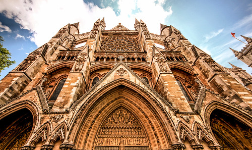 Westminster Abbey North Facade London by Simon & His Camera | by Simon Hadleigh-Sparks