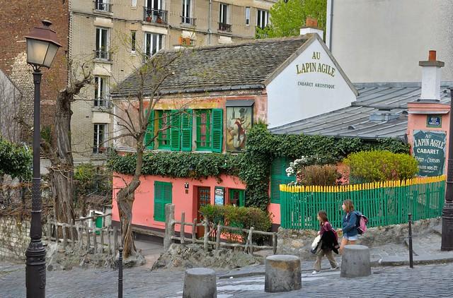 Paris Montmartre : Au Lapin Agile   2/2