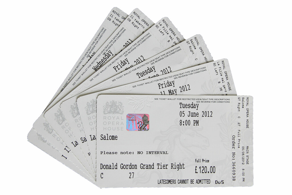 Tickets © ROH 2012