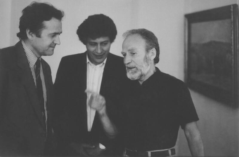 Ion Hadarca, Mihai Ghimpu and Mihai Grati (90-ies).