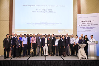6th Singapore International Conference on Finance, 17-18 July 2012