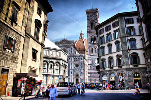 Italy Florence Piazza del Duomo August 2012 | by Smo_Q