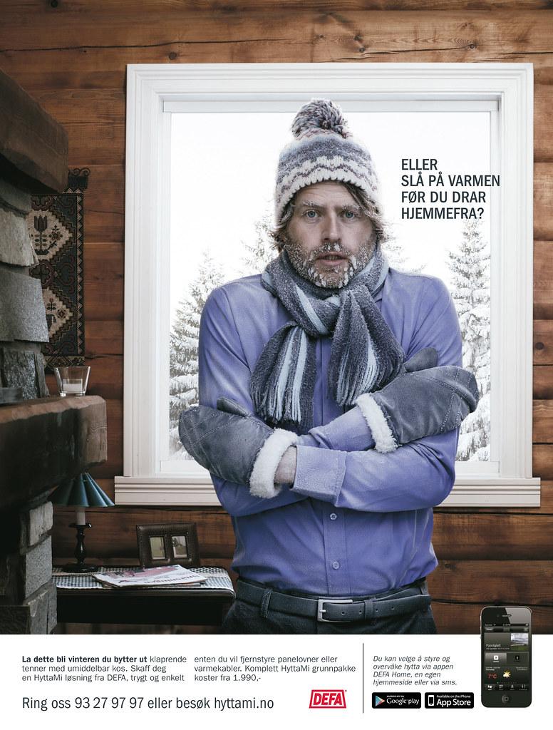 Fasjonable Slå floke? Eller slå på varmen før du drar på hytta? | Flickr VA-46