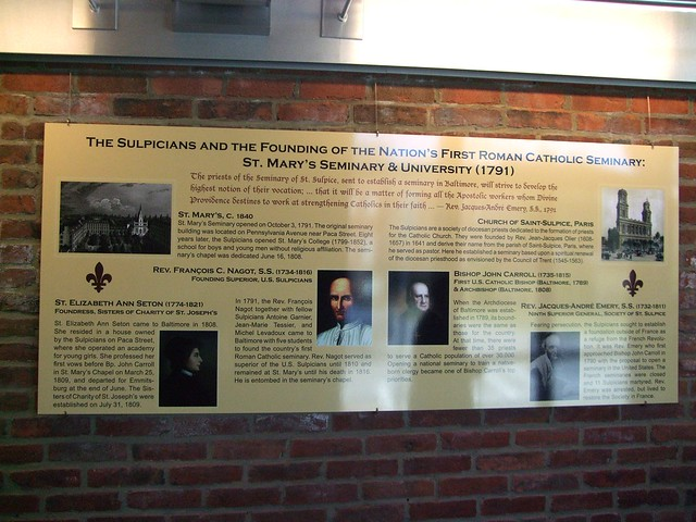St. Mary's Spiritual Center, St. Elizabeth Ann Seton House, Paca Street, Baltimore, MD