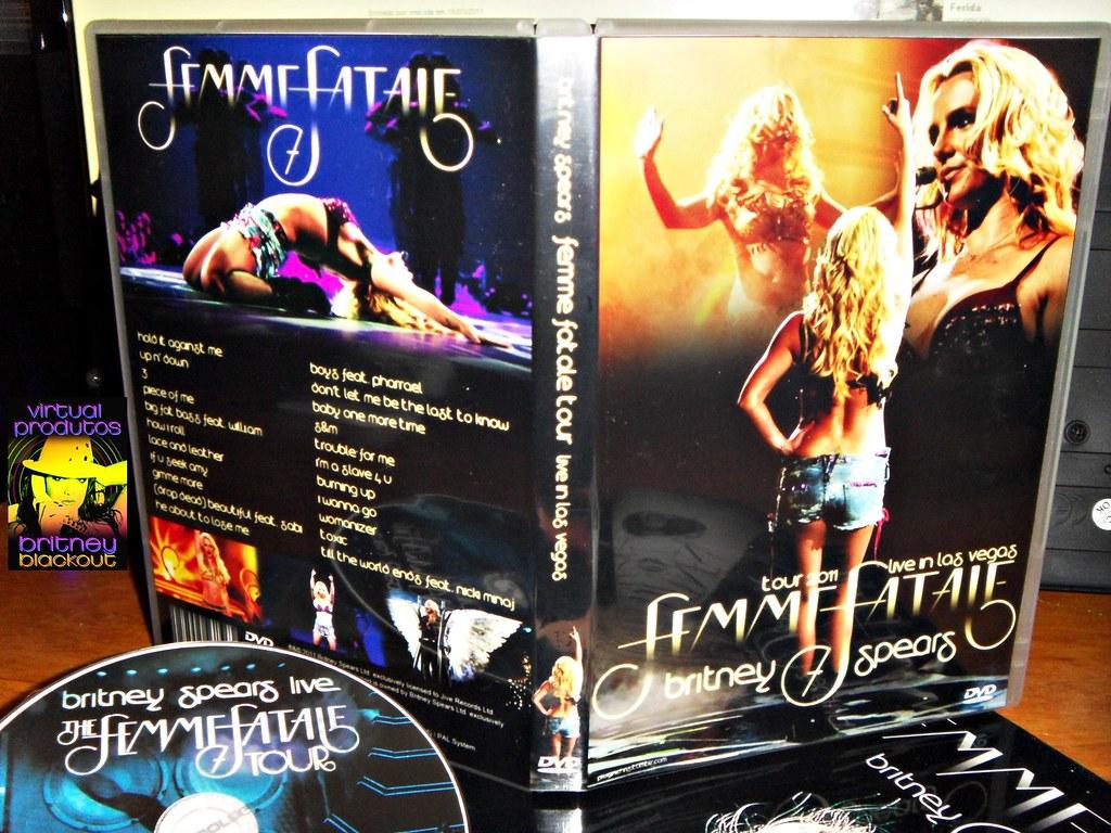 Dvd Poster Femme Fatale Live Las Vegas Britney Spears Flickr