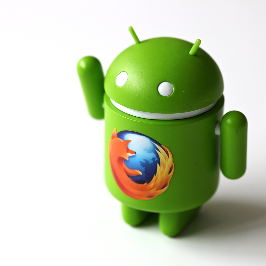 Firefox... on Android! ;-)