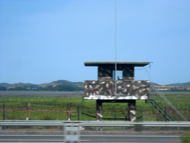 Travelling from Seoul towards the North Korean Border