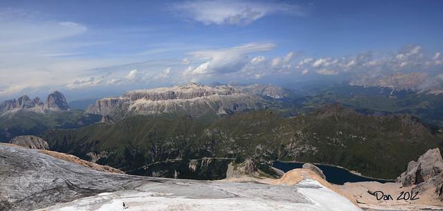 Panorama mozzafiato dalla Regina delle Dolomiti