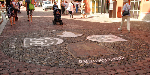 Freiburg. Pavement decorations, | by annamaart
