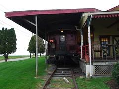 土, 2012-10-27 09:11 - Red Caboose Motelの食堂車