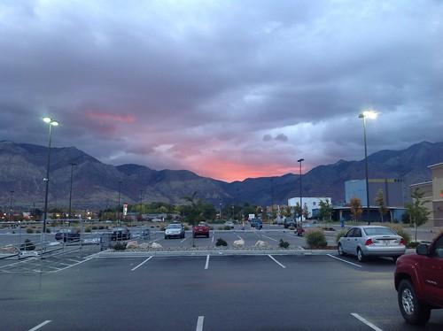 cloud weather clouds sunrise utah ogden