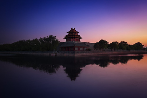 asia beijing china cityview cityscape clear forbiddencity historic longexposure oriental sunrise sunset travel traveling pequim beijingshi cn