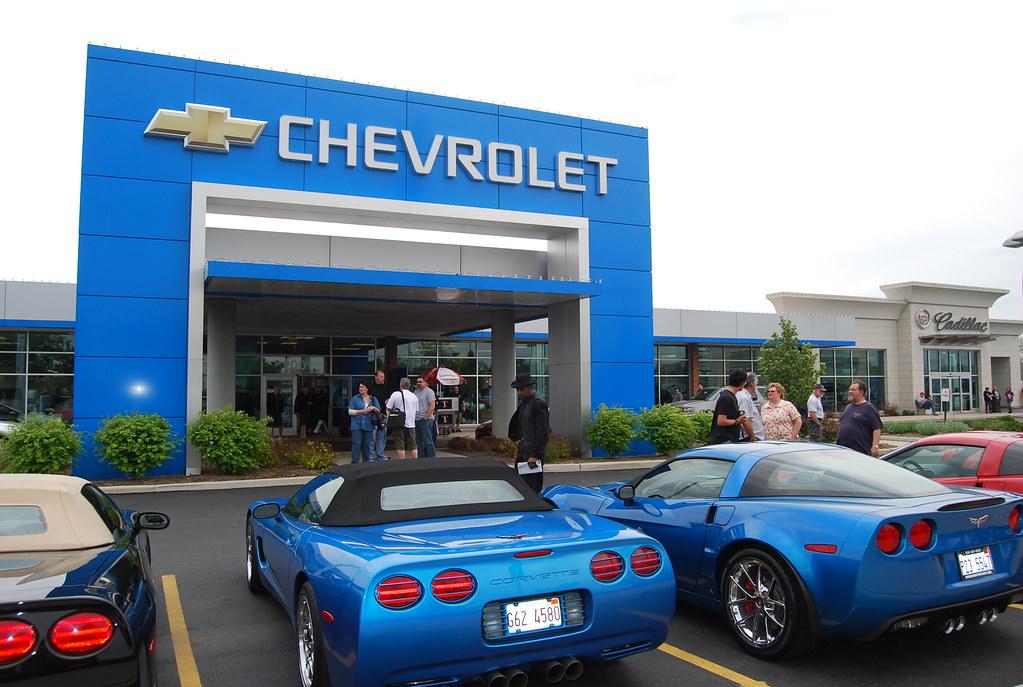 Bill Jacobs Chevrolet Joliet Illinois The Corvette Has B