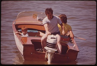 Boating On The Ohio River, June 1972