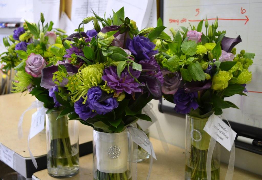 Purple And Green Wedding.Purple And Green Wedding Flowers Www Sendingsmiles Com Flickr