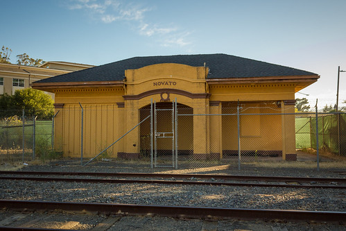 Novato Train Station | by Jeff Boyd