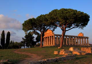 Paestum sunset | by Dancing Flowers by Gio'