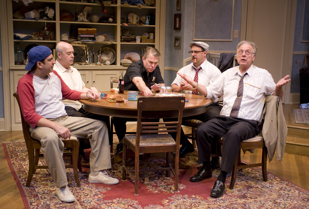 Marc Grapey, William Dick, Peter DeFaria, Phil Ridarelli, and Bruce Jarchow