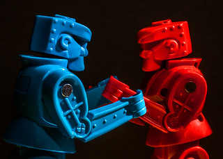2014-077 - red vs blue | by Robert Couse-Baker