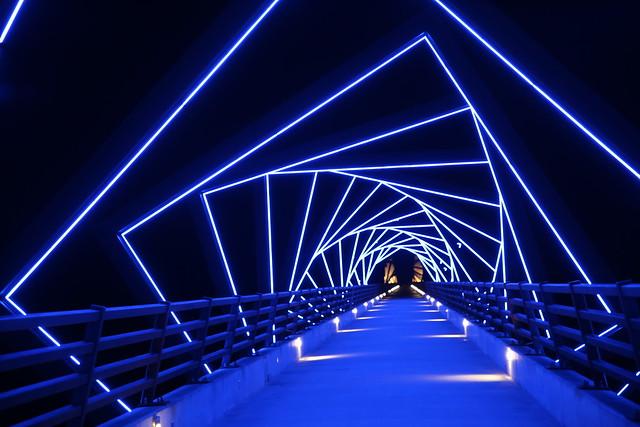 High Trestle Bridge in Iowa