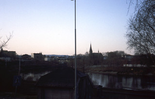 Fra Osloveien mot Ilen kirke (1992)