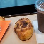 チョコクロ+シナモンレーズン+ココア@サンマルクカフェ