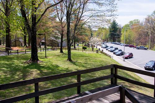 virginia parkinglot benches overlook restarea welcomecenter i77 carrollcounty lambsburg interstate77 nikond800