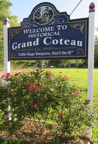 louisiana la citywelcomesigns saintlaundryparish stlaundryparish grandcoteau acadiana northamerica unitedstates us