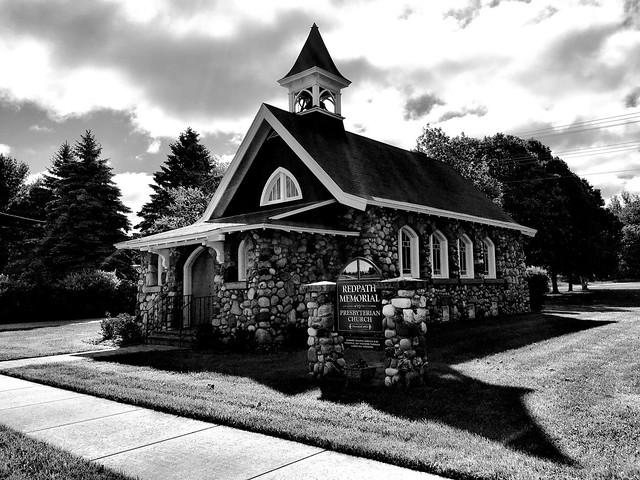 Church, Cross Village, Michigan
